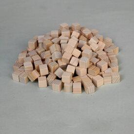 【ひのきブロック12mm角 200グラム】ブロック サイコロ エコ加湿器 キューブ アロマ 工作 使い方いろいろ ひのき メール便は2袋までです。