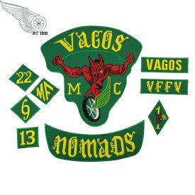 1%er MC モーターサイクルクラブパッチ NOMADS アイロンパッチ チョッパー イージーライダース ヘルズエンジェルス アメリカン ダイナ ソフテイル ツーリング スポーツスター Harley Davidson 81 support Hells Angels