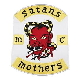 MOTHERS 1%er MC モーターサイクルクラブパッチ アイロンパッチ チョッパー イージーライダース ヘルズエンジェルス アメリカン ダイナ ソフテイル ツーリング スポーツスター Harley Davidson 81 support Hells Angels