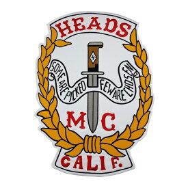 CALIF 1%er MC モーターサイクルクラブパッチ アイロンパッチ チョッパー イージーライダース ヘルズエンジェルス アメリカン ダイナ ソフテイル ツーリング スポーツスター Harley Davidson 81 support Hells Angels