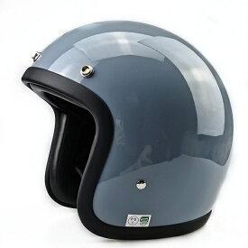 極小帽体 ビンテージ スモールジェット ヘルメット BELL 500TX STYLE カフェレーサ チョッパー ハーレー ブルーグレイ BUCO好きの方にも