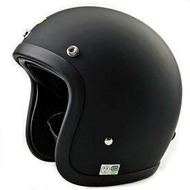 極小帽体 ビンテージ スモールジェット BELL 500TX スタイル カフェレーサー ヘルメット チョッパー ハーレー マットブラック 黒 BUCO好きの方にも