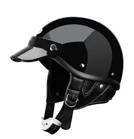 SHORTY ブラック ファッションヘルメット ポリス ショーティーヘルメット ディスプレ ヘルメット チョッパー ハーレー 各色あり BELLハーフキャップ好きの方へ ショーティー オーシャンビートル 好きの方へ