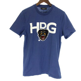 ジバンシィ /GIVENCHY HPC Rottweiler emblem T-shirt short sleeves size XS navy rank B 102 10C17