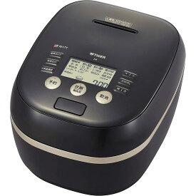 【送料無料】タイガー 炊飯器 5.5合 土鍋圧力IH式 ご泡火炊き 本土鍋 3段階火かげん選択 ブラック 炊きたて JPH-G100K