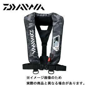 DAIWA DF-2007 ウォッシャブルライフジャケット ブラックカモ