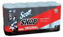 【送料無料】Scott SHOP TOWELS 『★エコ スコット』 スコットカーショップタオル 10個 55枚x10本 10ロール ペーパー…