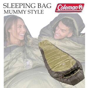 【送料無料!!】耐寒−18度 『寝袋 -18度 』Coleman コールマン マミー型シュラフ スリーピングバッグ 寝袋 マイナス -18℃ シェラフ シュラフ 最高級 マミースタイル 冬用 コールドウェザー 高級
