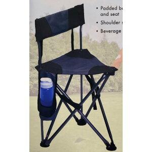 【送料無料】GCI Outdoor 折りたたみ『三脚チェア 』ドリンクホルダー付チェアー イス 椅子 いす キャンプ 折り畳み式 BBQ アウトドア 釣り コンパクト