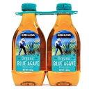 【送料無料】カークランド シグネチャー オーガニック ブルー『アガベ シロップ』 1.02kg x 2 2本 2個 有機 オーガニック ブルーアガベシロップ 天然甘味料
