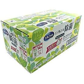 【送料無料】『シルコット ウェットティッシュ』  詰替45枚×14個+本体45枚×1個 ノンアルコール除菌