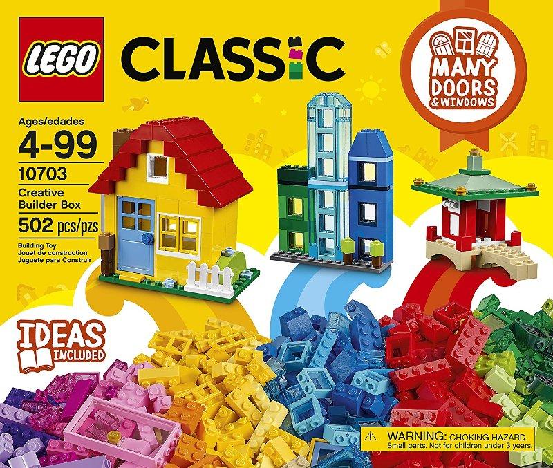 レゴ 『LEGO 10703』 クラシック アイデアボックス ブロック 建物 知育玩具 プレゼント 誕生日 おもちゃ クリスマス
