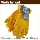 【メール便送料無料】ウェルズ ラモント 『本革 手袋』Wells Lamont Premium Leather ...