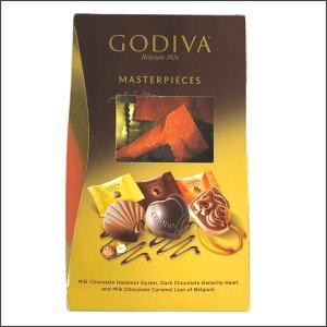 GODIVA 『ゴディバ 45粒』 MASTERPIECES マスターピース シェアリングパック チョコレート 45個 ミルクチョコレート プラリネ トルコ ゴディバジャパン 個包装 高級チョコレートダークチョコレー