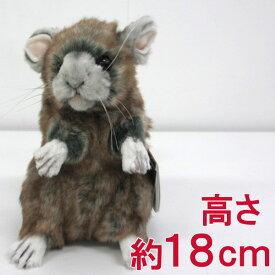 [ハンサ][4844]チンチラhansa CHINCHILLA ちんちらhansa HANSA リアルな動物のぬいぐるみ
