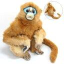 [ハンサ][6766]シシバナザル-MONKEY MAMA SNUBBED NOSE-青ざめてるんじゃない!もともとだよ☆HANSAのリアルな動物ぬいぐるみです。