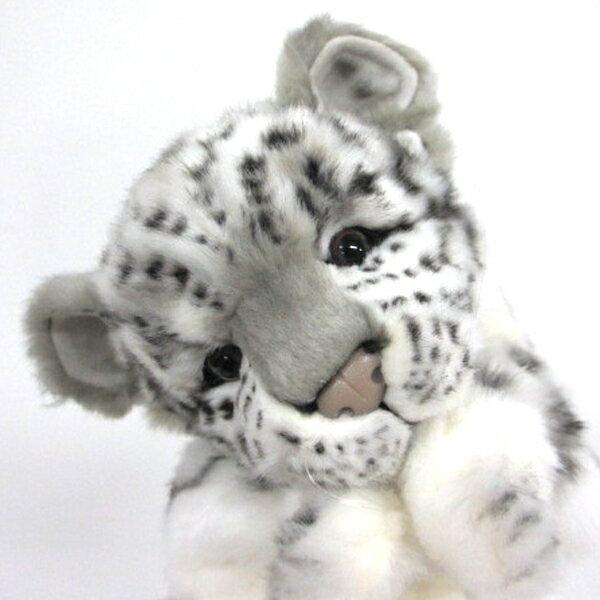ハンサ【パペット】ユキヒョウ[7502]グッズ ハンドパペット ぬいぐるみhansa HANSA リアルな動物のぬいぐるみ