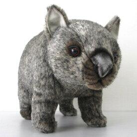 [ハンサ][3248]ウォンバット 40-wombat うぉんばっとぬいぐるみHANSAリアル 動物園 アニマル インテリア]