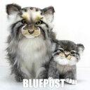 【親子セット】[ハンサ]【2種セット】[7077・7299]マヌルネコの親子-BH7077&7299pallas cat standing&pallas kitten-【2019年発売…