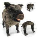 ハンサ【イノシシ 52】[4092]hansa いのしし wild boar2019年 干支 猪hansa HANSA リアルな動物のぬいぐるみ