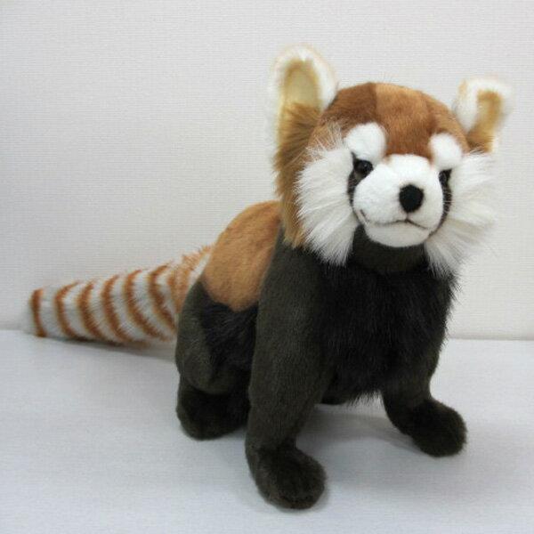 [ハンサ][3579]レッサ−パンダどっしり貫禄のある印象ですHANSAのリアルな動物ぬいぐるみです。