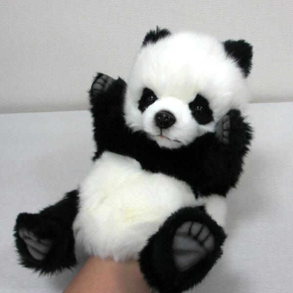 ハンサ【パペット】ジャイアントパンダ[7165]パンダ グッズ ハンドパペット ぬいぐるみhansa HANSA リアルな動物のぬいぐるみ