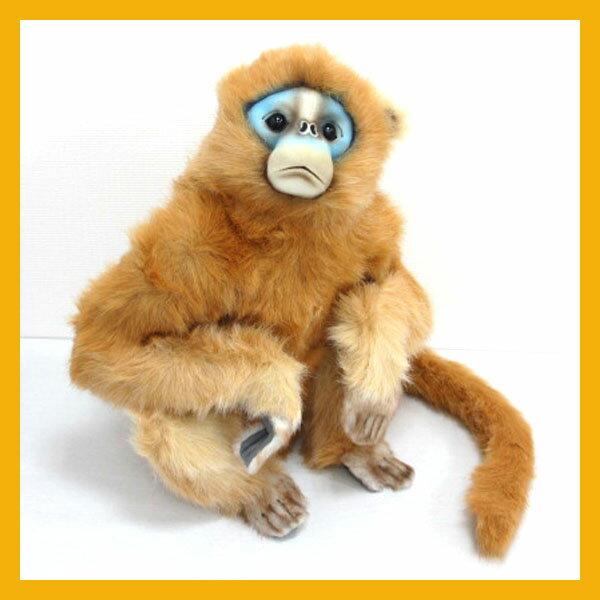 [ハンサ]シシバナザル[6766]-MONKEY MAMA SNUBBED NOSE-青ざめてるんじゃない!もともとだよ☆HANSAのリアルな動物ぬいぐるみです。
