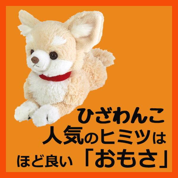 サンレモン ひざわんこチワワ【クリーム】[P-3002]