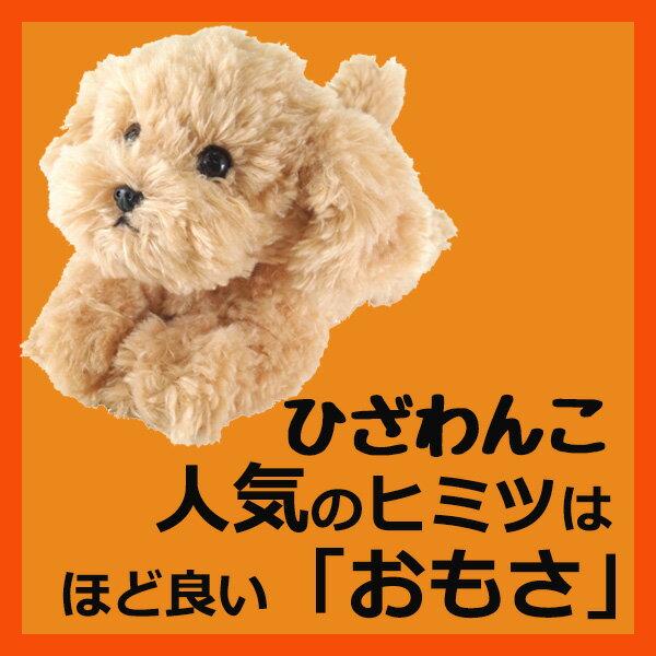 サンレモン ひざわんこトイプードル【ベージュ】[P-3042]犬 いぬ イヌ ワンちゃん ワンコ ひざいぬhizawanko hizainu