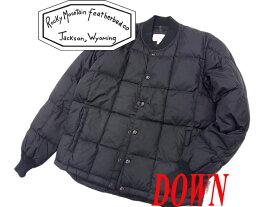 【中古】○美品 ロッキーマウンテン フェザーベッド ダウンジャケット ブラック 黒色 メンズ 正規品 Rocky Mountain Featherbed 美ライン