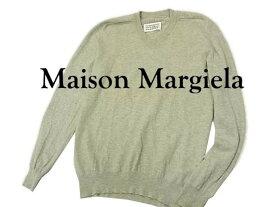【中古】◇マルタンマルジェラ14◇ニットセーター エルボーパッチ メンズトップス Maison Martin Margiela ここのえ(株)イタリア製