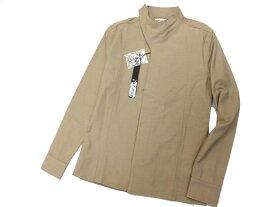 【中古】新品◎シェラックオム ジャケット SHELLAC HOMME スクエアカラーシャツジャケット タイトシルエット メンズ
