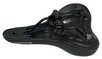 【新入荷】GIANTジャイアント肉厚サドル衝撃吸収ブラックサイクリング