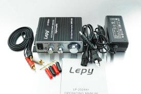Lepy 新モデル LP-2024A+ (ブラック)デジタルアンプ(本体+ACアダプタ 12V5A ) LP-2020A バージョンアップ版