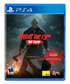 【ポイント2倍★クーポン配布中】 【新品 PS4 北米版】Friday The 13th The Game / 13日の金曜日