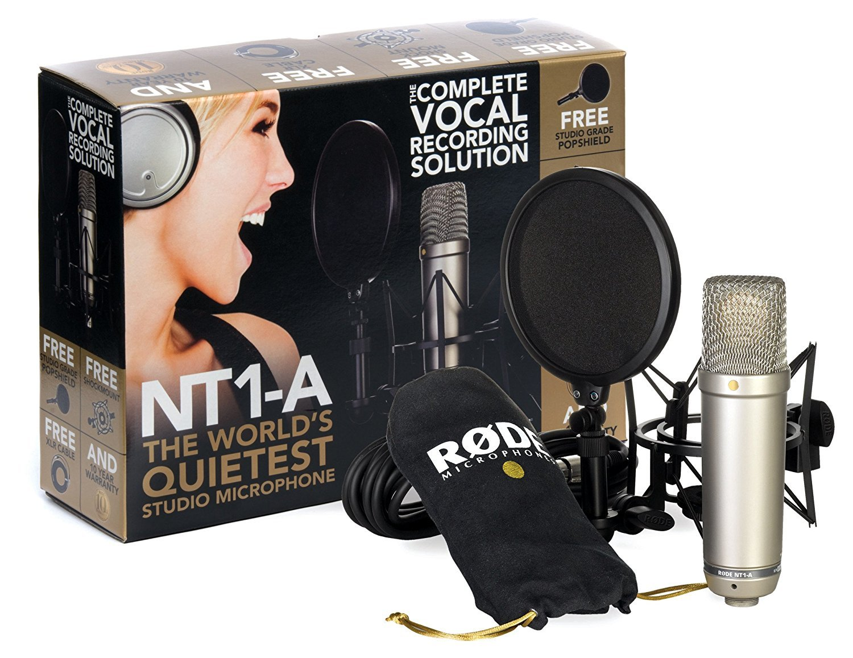 【マイク機材フルセット!!】Rode NT1A Anniversary Vocal Condenser Microphone Package ■並行輸入品■