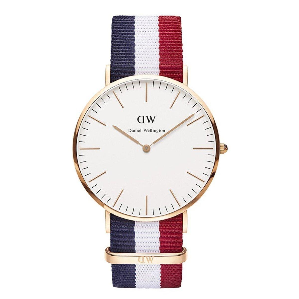 【1年保証付】ダニエルウェリントン 腕時計 Daniel Wellington 時計 40mm 0103DW RoseGold×Cambridge メンズ [並行輸入品]
