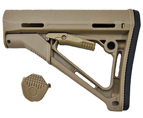 日本国内在庫品 MAGPUL マグプルタイプ CTRカービンストック DE ダークアース M4 M16対応