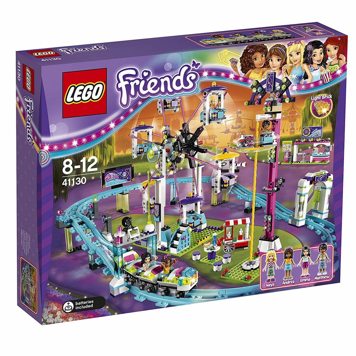 """レゴ (LEGO) フレンズ 遊園地""""ジェットコースター"""" 41130"""