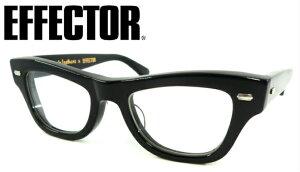 EFFECTOR(エフェクター)AVIAKIT(アヴィアキット)×Lewis leathers(ルイスレザー) C-BK 【眼鏡 メガネ おしゃれメガネ 伊達メガネ 伊達眼鏡 メガネ フレーム フルリム セルフレーム ブラック おしゃ