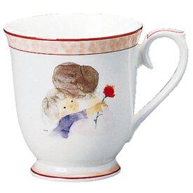 【NARUMI(ナルミ)】 いわさきちひろマグカップ(母の日 290cc 陶器通販 ブランド通販 マグ  【創業明治元年の安心感】