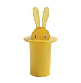 【ALESSI(アレッシィ)】 Magic Bunny(マジックバニー) 楊枝入れイエロー インテリア通販  【創業明治元年 140年 変わらぬ真心】
