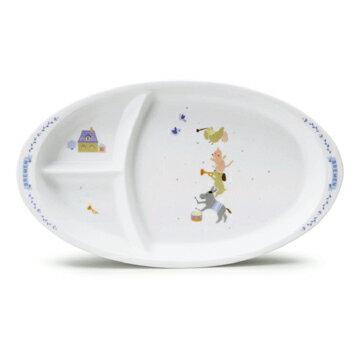 【ナルミ】  ブレーメン キッズプレート(ブレーメン) 陶器通販 ブランド通販 人気通販 ブランド通販   子供食器 【創業明治元年の安心感】