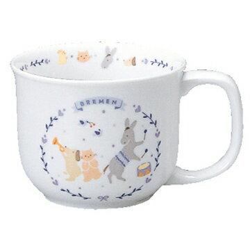 【ナルミ】  ブレーメン マグカップ  陶器通販 ブランド通販 人気通販 ブランド通販   子供食器 【創業明治元年の安心感】【定形外郵便・380円】お届けさせて頂きます。