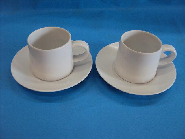 【白山陶器】 M型ペアコーヒーセット  はなまる   【白山陶器】★業務用としてもお薦めの商品です」 お誕生日、結婚祝い、引き出物 白山陶器通販 白磁