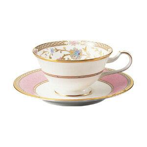 【ノリタケ】 ヨシノ ティー・コーヒー碗皿(ピンク)05P03Sep16