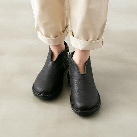 trippen トリッペンレザー アンクルブーツ シンプル ブラック Simple black