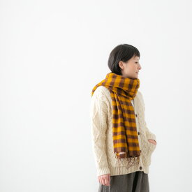 【40%OFF】hint hint ヒントヒント チェックストール 3色 STOLE04