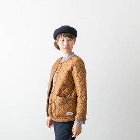 【20%OFF】ARMEN アーメン キルティング ノーカラー ジャケット 6色 NAM1851