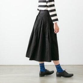 GRANDMA MAMA DAUGHTER グランマ ママ ドーター チノ プリーツ ロングスカート 3色 92103137 / GK001